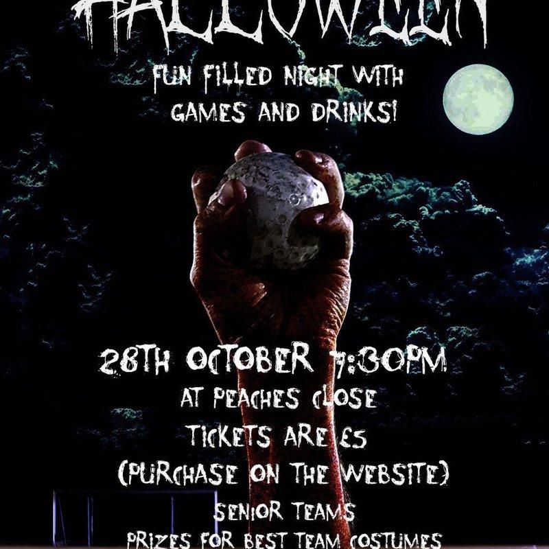 CHC Halloween Bash 2017 - 28th October 7:30 pm Peaches Close