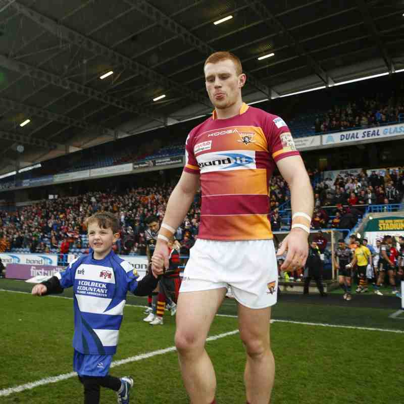 Huddersfield Giants V Salford April 2015