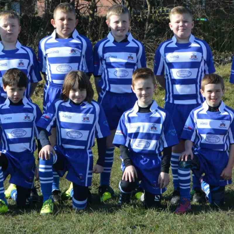 Siddal U9s The Team 2016