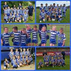 1 Semi final & 4 out of 5 win's for U8s 2016 Summer Tournaments