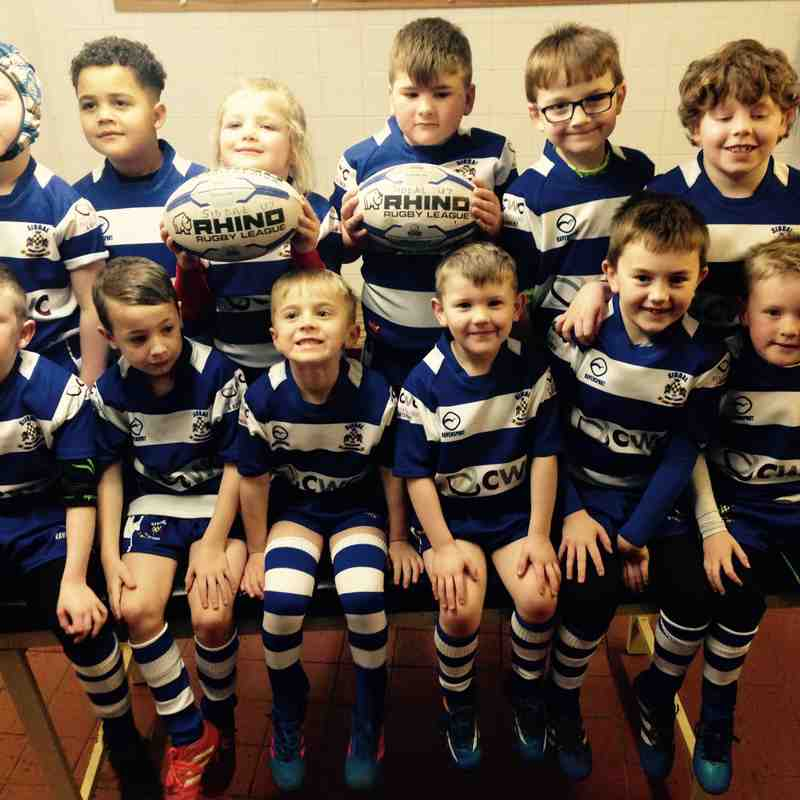 U7S LIONS TEAM PICTURES AND SPONSORS