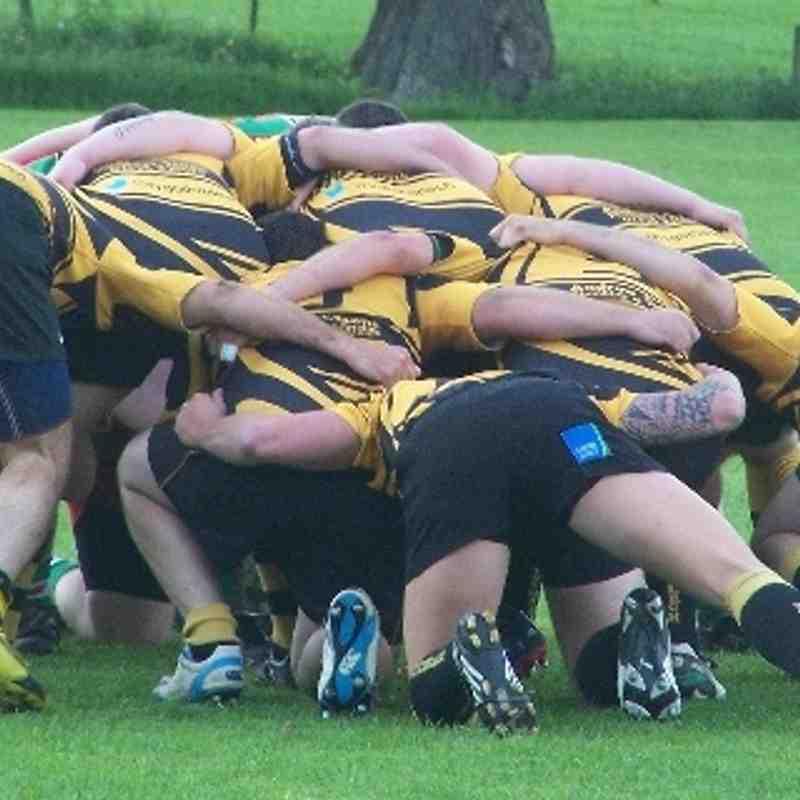 Gwynedd Cup Final - action and presentations