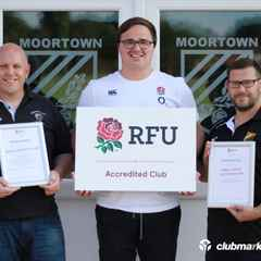 Moortown RUFC Accreditation