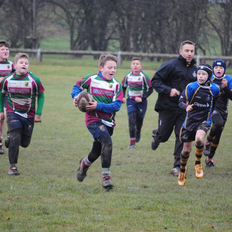 Moortown u11s Tough day at the office