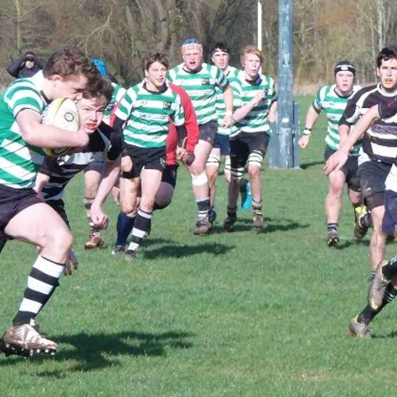Ledbury U16s v Luctonians 16.2.2014