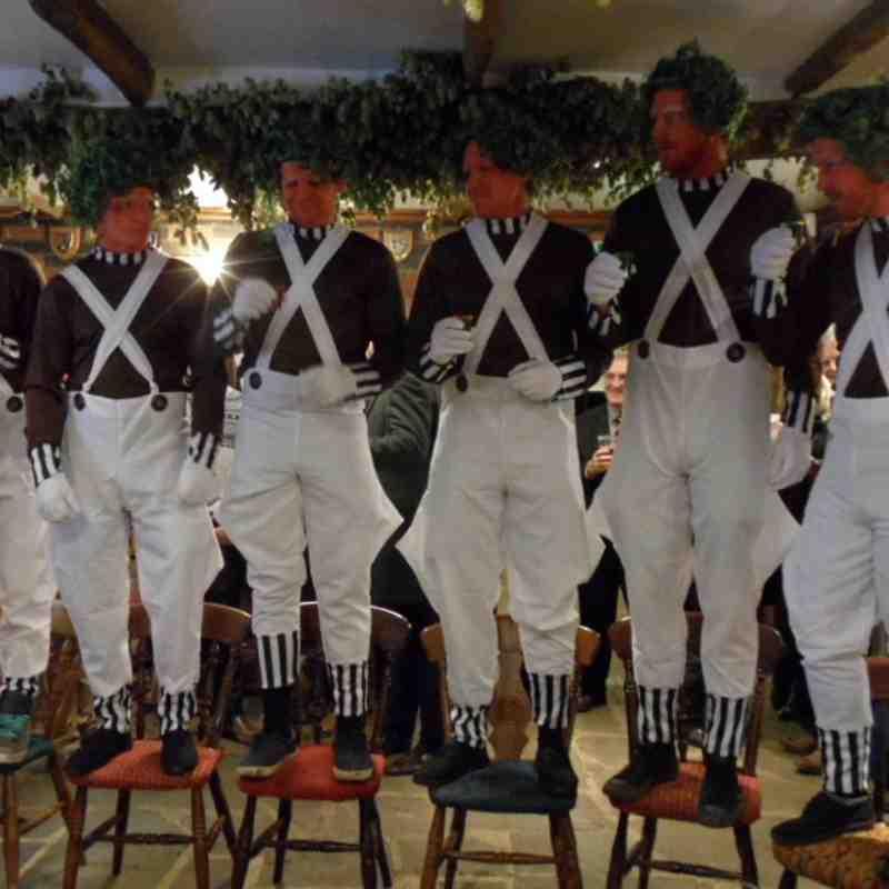 1st XV v Old Wheats 12.12.15 Fancy Dress Christmas Party