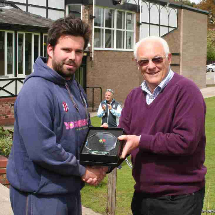 League Cricket Conference Player of the Year 2016