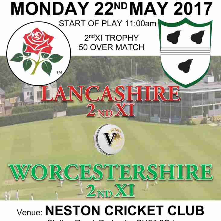 Lancashire 2nd XI v Worcestershire 2nd XI @ Neston