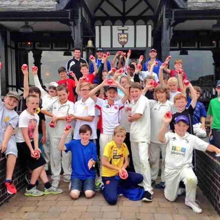 Cheshire Cricket Board - Summer Cricket Camp