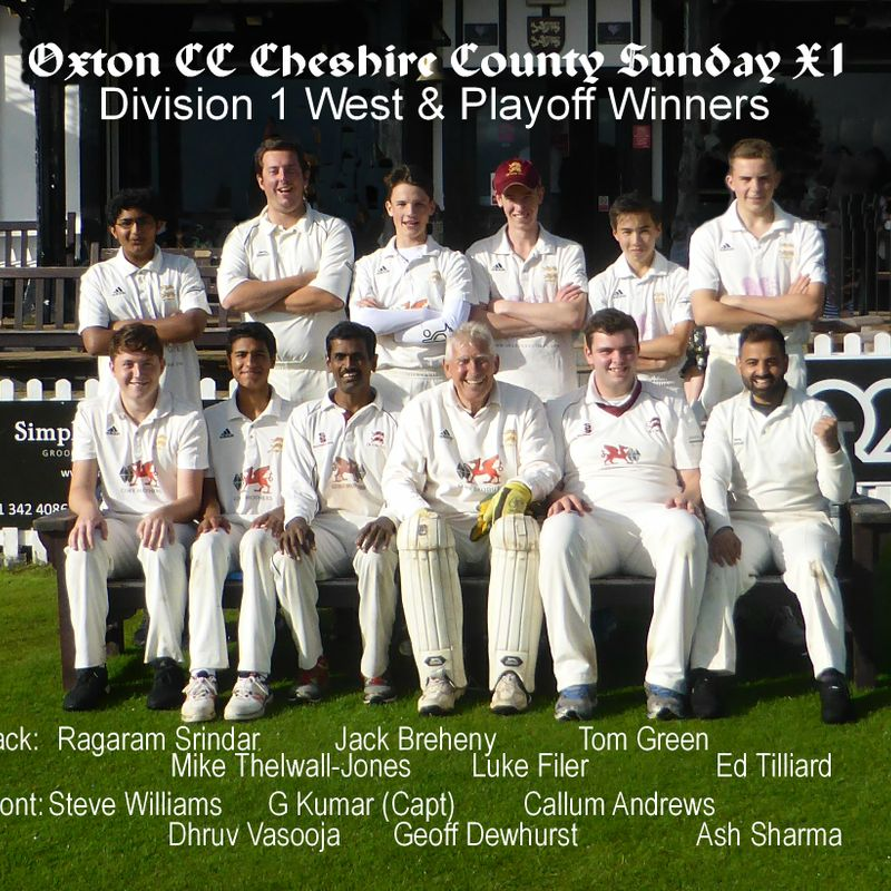 Oxton Win the Play-Off