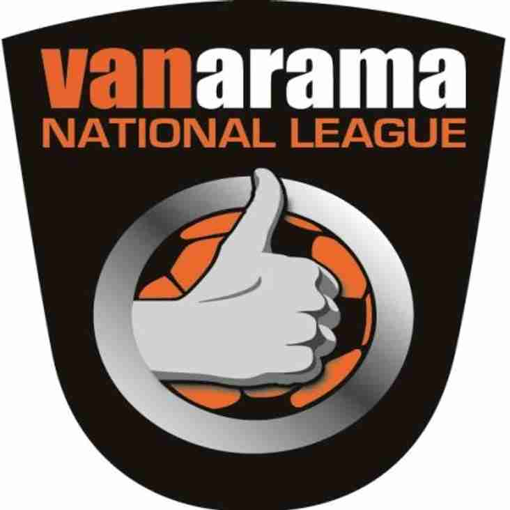 Tuesday`s Vanarama National League Round-Up...