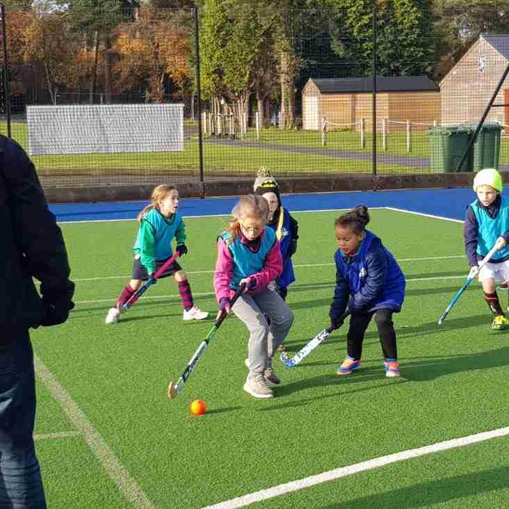 Junior training times Sunday NOVEMBER 18