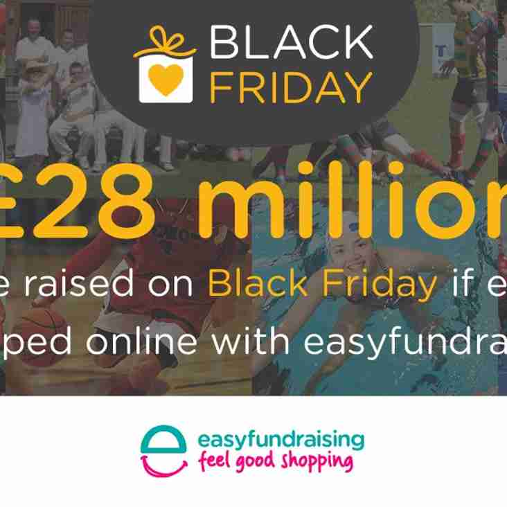 Black Friday and Xmas shopping - raise money for your club