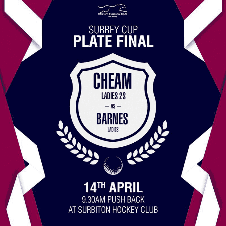 Cheam L2s in the Surrey Plate final