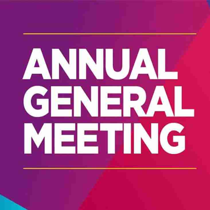 2019 Club AGM - Monday July 15