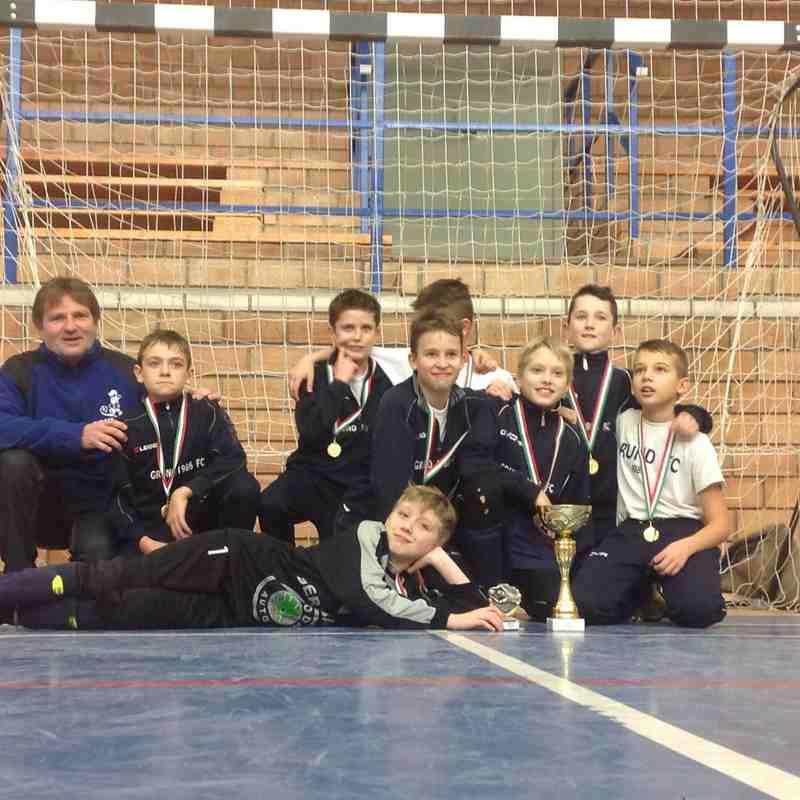 2015. 02. 07. Hali Kupa - A kupagyőztes csapat