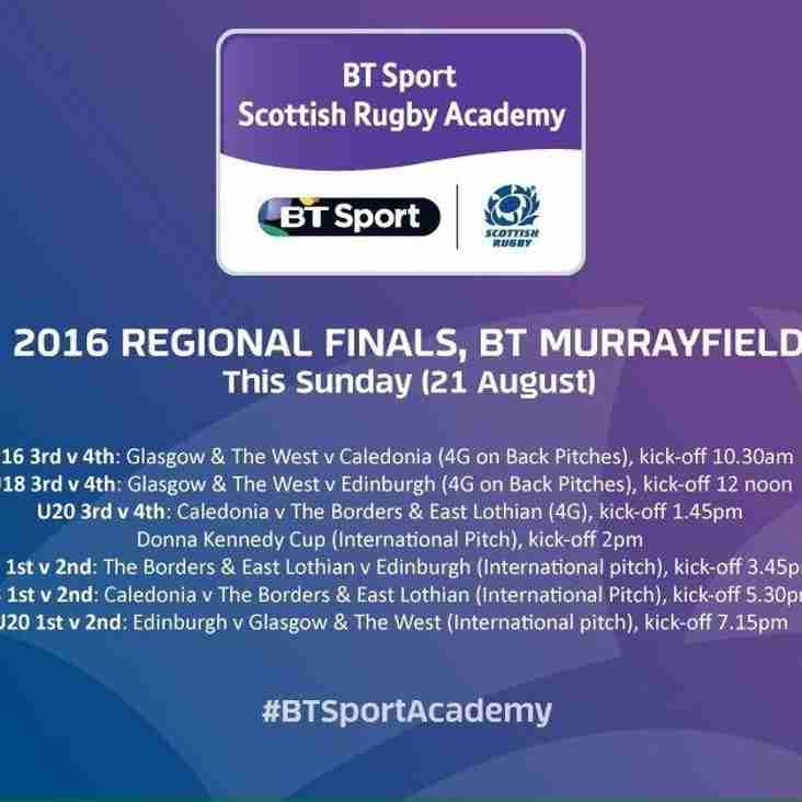 BT Regional Academies Finals