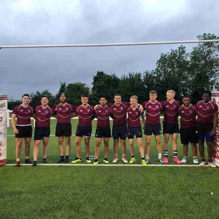 Under 20's come 2nd in Buckinghamshire's X7s tournament!