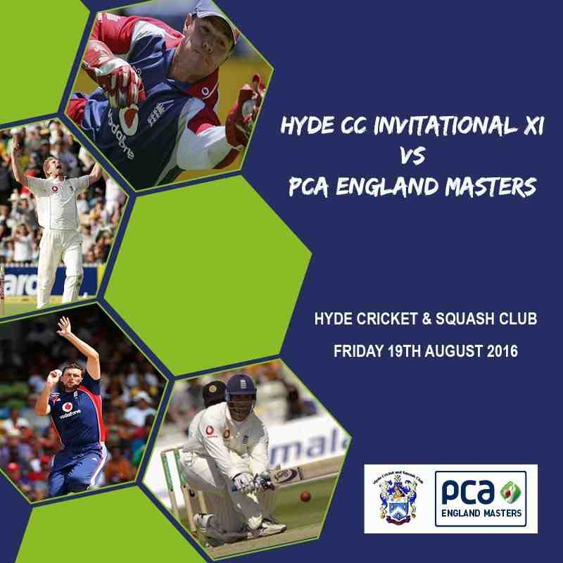 PCA ENGLAND MASTERS