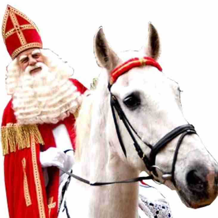 Sinterklaasweekend komt er aan