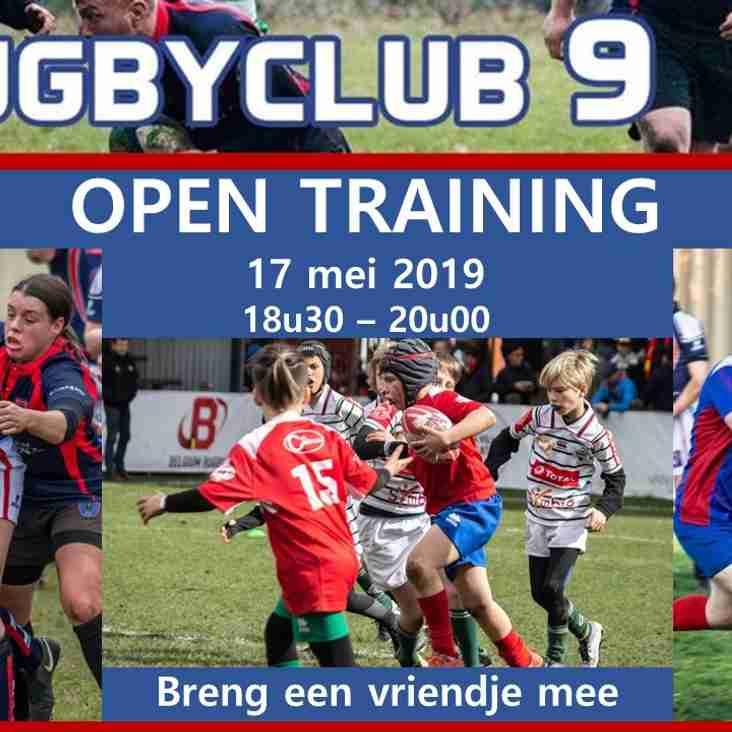 Open Trainingen voor nieuwe Jeugdspelers