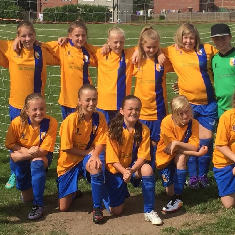 Mansfield Town Ladies U12's - Yellow lose to Arnold Town LFC U12 2 - 0