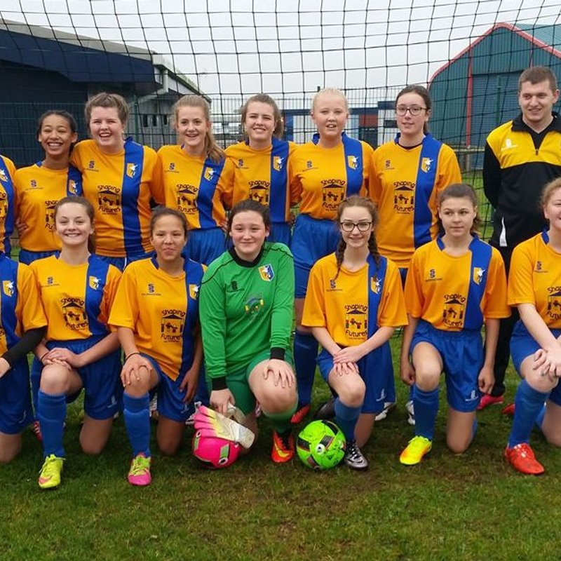 Mansfield Town Ladies U15's lose to Sherwood Youth FC U15 4 - 0