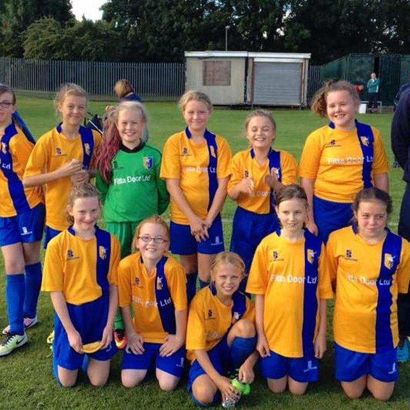 West Bridgford Colts FC Griffins U12 0 - 0 Mansfield Town Ladies Blue U12