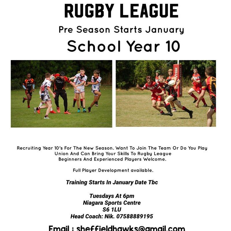 Year 10's Come join us!