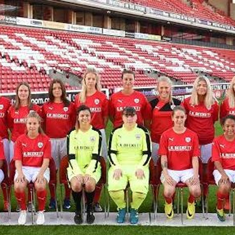 Barnsley FC Ladies Reserves lose to Wakefield FC Ladies 3 - 2