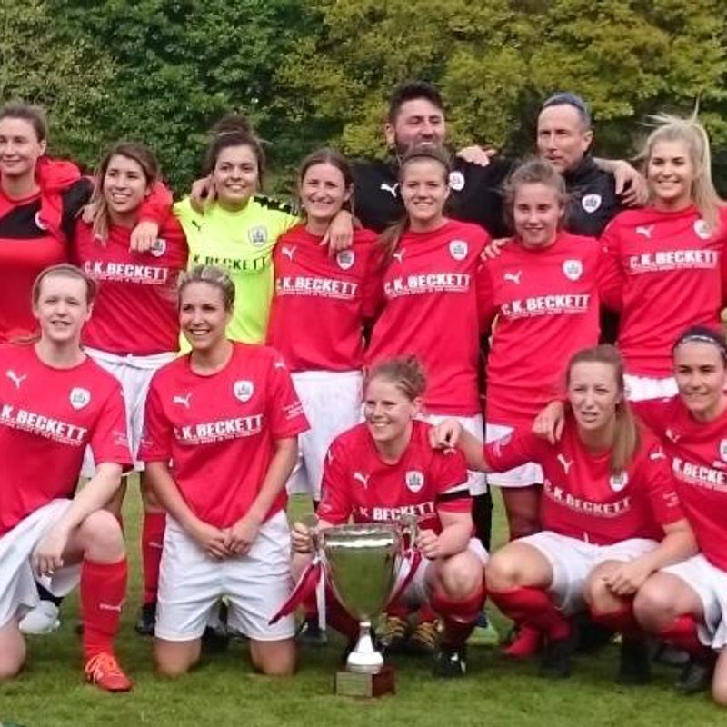 Barnsley FC Ladies do the NERWFL Double.