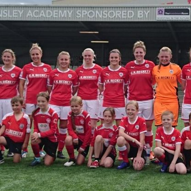 Barnsley FC Ladies vs Hull City Ladies FC