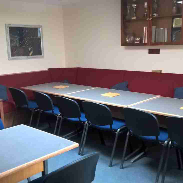 Small Clubroom back in service