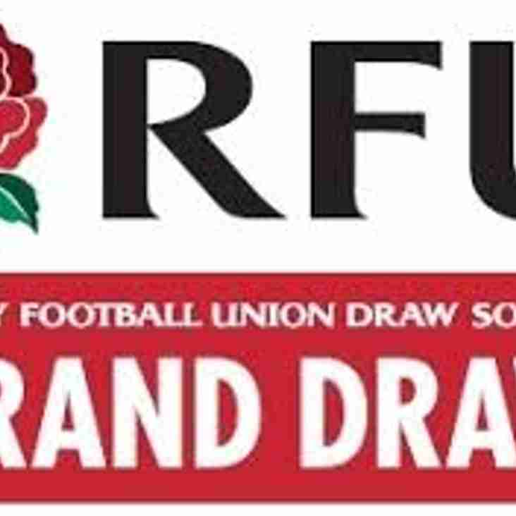 RFU Grand Draw is back for 2017/18