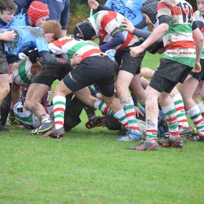 Under 13 v Wilmslow - 13th December 2015