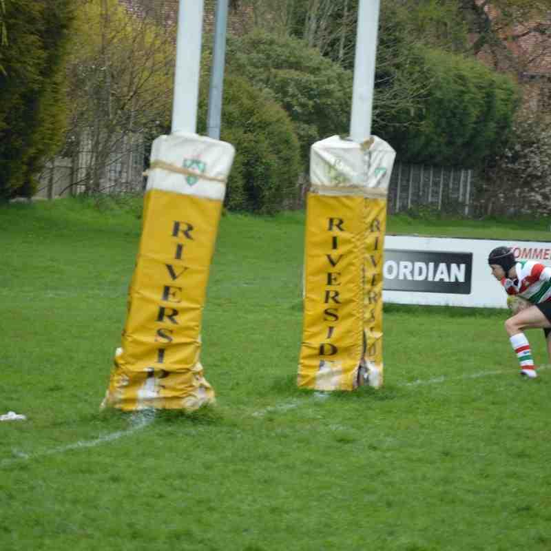 Under 13 v Crewe & Nantwich - 24th April 2016
