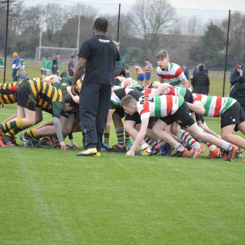 v St. Benedicts - London Irish comp final 19th Feb 17