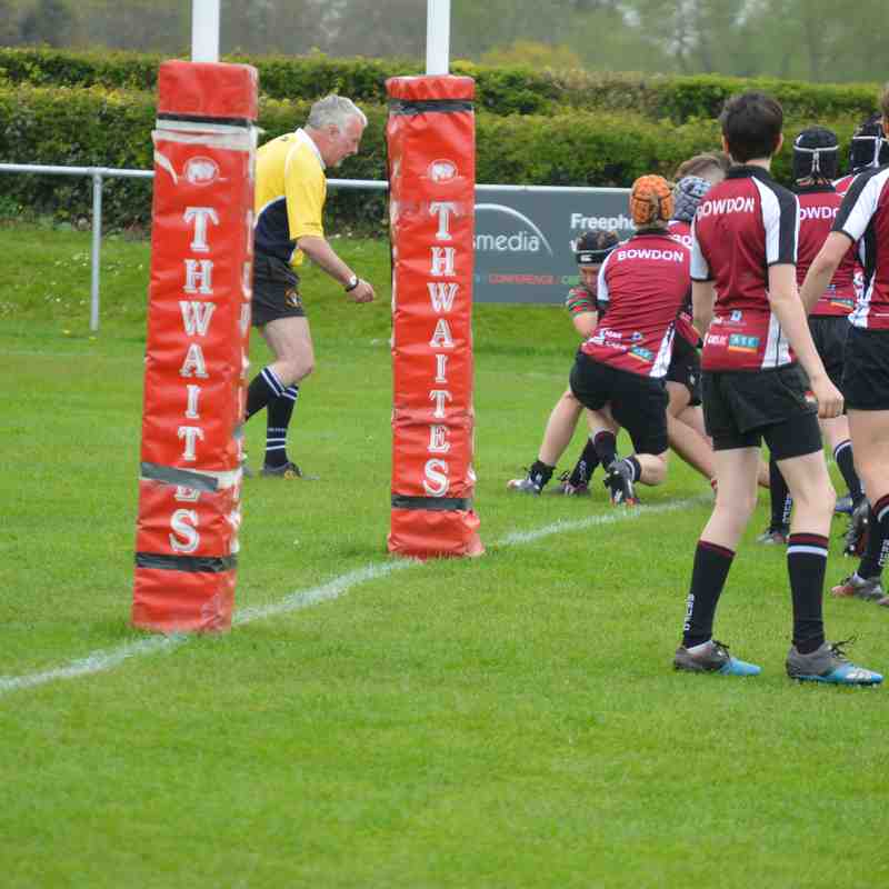 v bowdon -Cheshire Cup final 30th April 2017