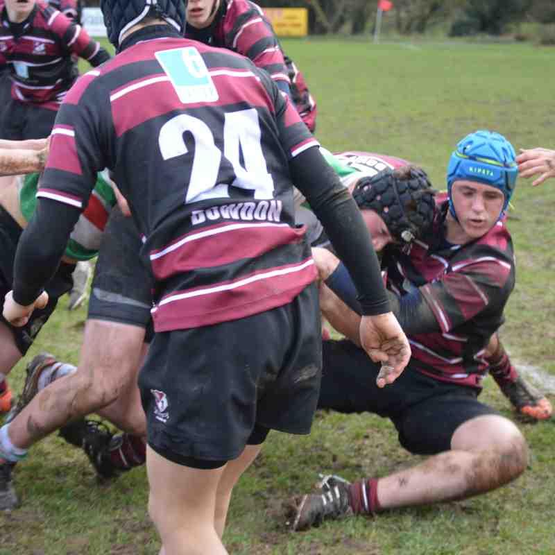 v Bowdon QF cheshire cup 4th Feb 18