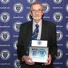 Club Groundsman Honoured by Sussex County F.A