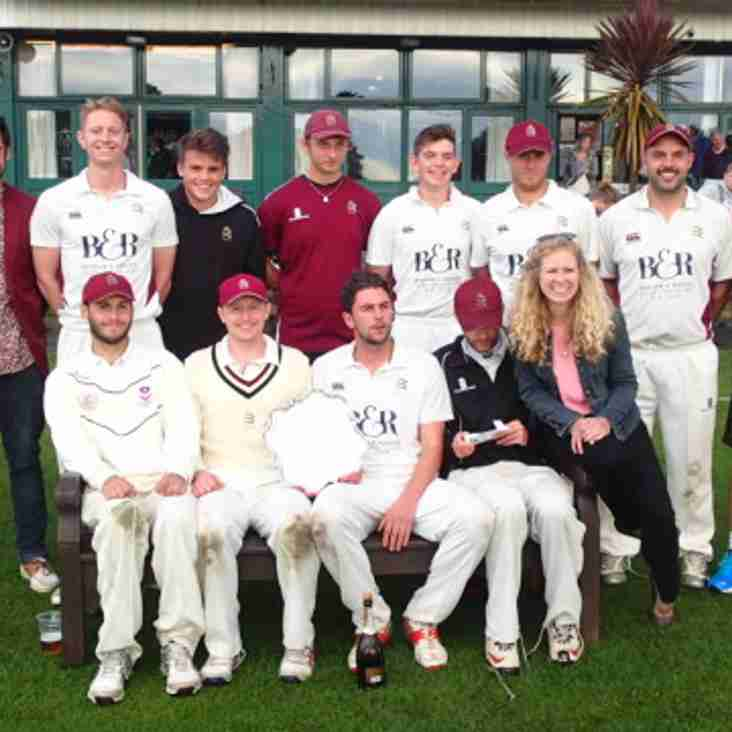 Midd win Middlesex Cup for first time