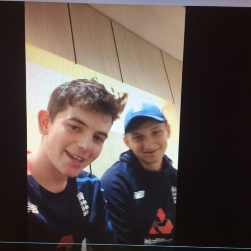 Video message to North Midd from Ethan and Luke