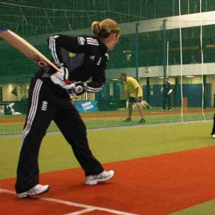 Contingent of North Midd Juniors in England Indoor World Cup Squads