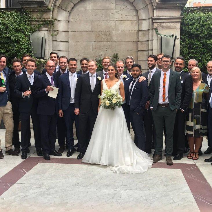 Mayfair wedding for Evan and Nicole <