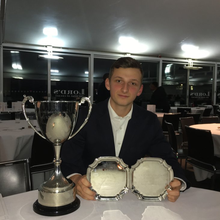 MCCL Dinner – 2s and 3s collect Championship Trophies; Top Awards for Luke!<