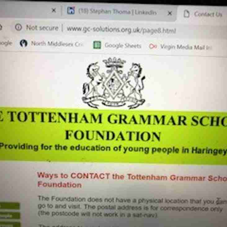 Huge thanks to Tottenham Grammar School and CSDS Foundations