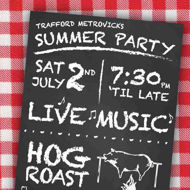 CELEBRATE OUR SUCCESSES WITH A SUMMER PARTY AT TRAFFORD MV