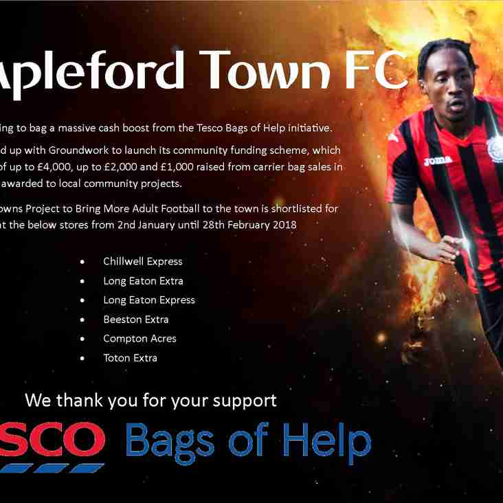 Bags of Help from Tesco