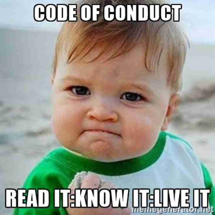 New Code of Conduct Guidelines