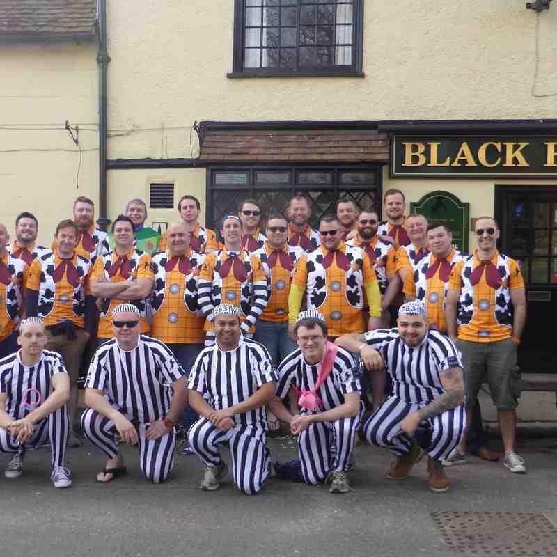 Black Horse RFC Tour 2016 - MDAW, Sandown, Isle of Wight